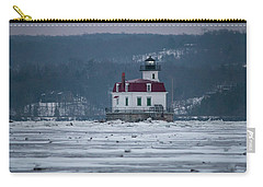 January Morning At Esopus Light Carry-all Pouch