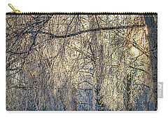Carry-all Pouch featuring the photograph January,1-st, 14.35 #h4 by Leif Sohlman