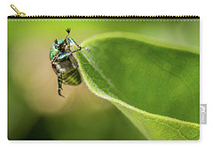 Japanese Beetle On Milkweed Carry-all Pouch