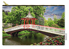 Japanese Bridge Garden Carry-all Pouch