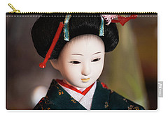 Japanese Doll Carry-all Pouch