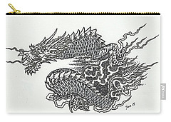 Japanese Dragon Carry-all Pouch