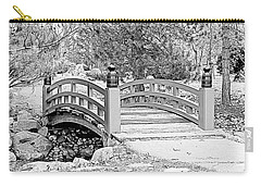 Carry-all Pouch featuring the photograph Japanese Garden by Rodney Campbell