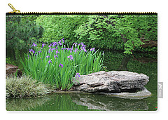 Japanese Gardens - Spring 02 Carry-all Pouch by Pamela Critchlow