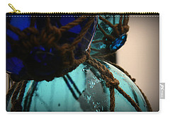 Carry-all Pouch featuring the photograph Japanese Glass Floats by Katie Wing Vigil