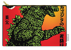 Japanese Godzilla  Carry-all Pouch