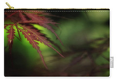 Carry-all Pouch featuring the photograph Japanese Maple by Mike Eingle