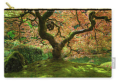 Japanese Maple Tree Bathed In Sunlight Carry-all Pouch