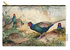 Japanese Pheasants Carry-all Pouch
