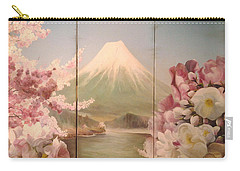 Japanese Spring Carry-all Pouch by Sorin Apostolescu