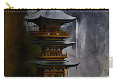 Japanese Temple. Carry-all Pouch