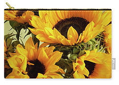 Jar Of Sunflowers Carry-all Pouch