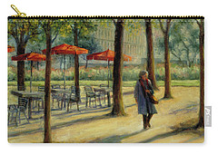 Jardin Des Tuileries In October Carry-all Pouch by Jill Musser