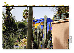 Carry-all Pouch featuring the photograph Jardin Majorelle 4 by Andrew Fare