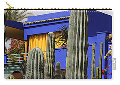Carry-all Pouch featuring the photograph Jardin Majorelle 5 by Andrew Fare