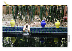 Carry-all Pouch featuring the photograph Jardin Majorelle by Andrew Fare