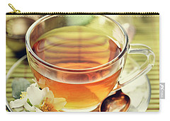 Jasmine And Green Tea Carry-all Pouch