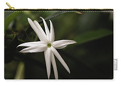 Carry-all Pouch featuring the photograph Jasmine Flower by Cristina Stefan