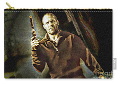 Jason Statham - Actor Painting Carry-all Pouch