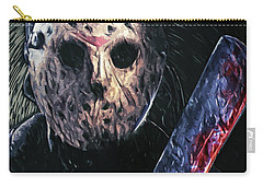 Jason Voorhees Carry-all Pouch by Taylan Apukovska