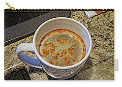 Carry-all Pouch featuring the photograph Java Central by Lynda Lehmann