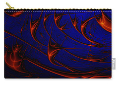 Carry-all Pouch featuring the digital art Javaturing by Andrew Kotlinski