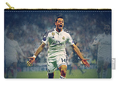 Javier Hernandez Balcazar Carry-all Pouch by Semih Yurdabak