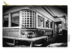 Carry-all Pouch featuring the photograph Jax Diner, Truckee by Vinnie Oakes