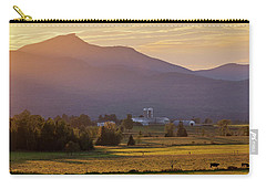 Jay Peak September Sunset Carry-all Pouch