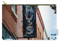 Carry-all Pouch featuring the photograph Jay's Sign by Doug Camara