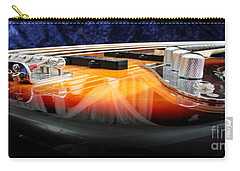 Jazz Bass Beauty Carry-all Pouch by Todd A Blanchard