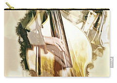 Carry-all Pouch featuring the photograph Jazz Dreams by Cameron Wood