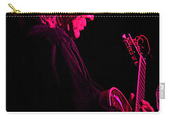 Carry-all Pouch featuring the photograph Jazz Guitarist by Lori Seaman