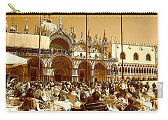 Jazz In Piazza San Marco Carry-all Pouch
