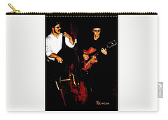 Jazz Musicians Carry-all Pouch by Sadie Reneau