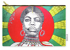 Jazz Saint Carry-all Pouch by Ethna Gillespie