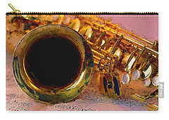 Jazz Saxophone Carry-all Pouch