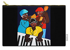 Jazz Sunshine Band Carry-all Pouch
