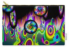 Carry-all Pouch featuring the digital art Jazzin It Up by Lynda Lehmann
