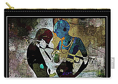Jazzy Night 10 Carry-all Pouch by Lynda Payton