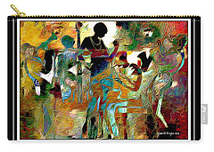 Jazzy Night 2 Carry-all Pouch by Lynda Payton