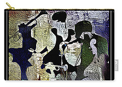 Jazzy Night 9 Carry-all Pouch by Lynda Payton
