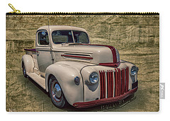 Carry-all Pouch featuring the photograph Jb Pickup by Keith Hawley