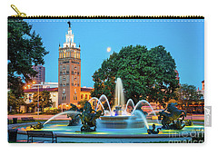 J.c. Nichols Memorial Fountain Carry-all Pouch