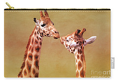 Je T'aime Giraffes Carry-all Pouch
