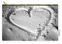 Winter Heart Carry-all Pouch