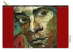 Jean-michel Basquiat Carry-all Pouch by Helen Syron