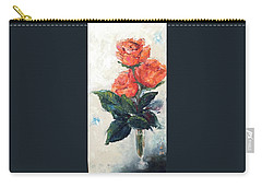 Jeannie's Roses Carry-all Pouch