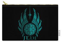 Jedi Symbol - Star Wars Art, Blue Carry-all Pouch
