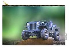 Carry-all Pouch featuring the photograph Jeep by Charuhas Images